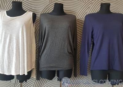 Bluzki bawełna długi rękaw 4